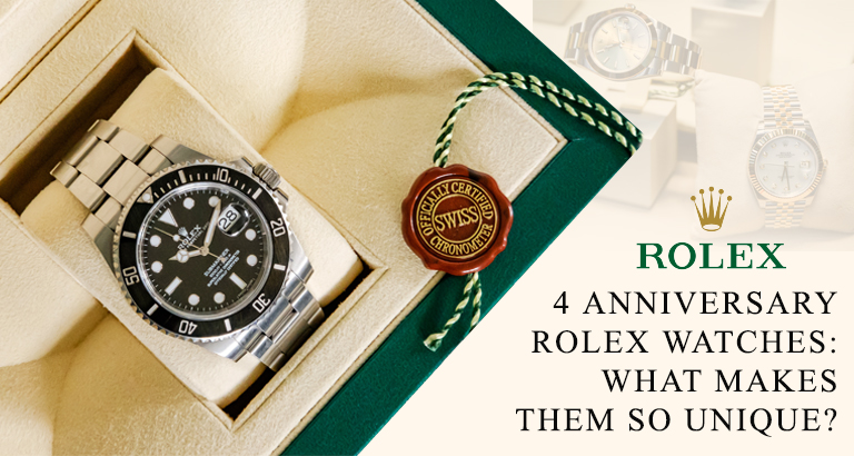 popular Rolex anniversary watches