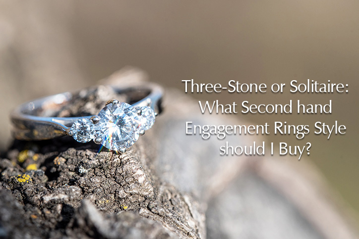 second hand engagement rings