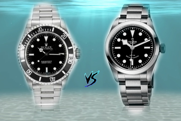 rolex-vs-tudor-black-bay