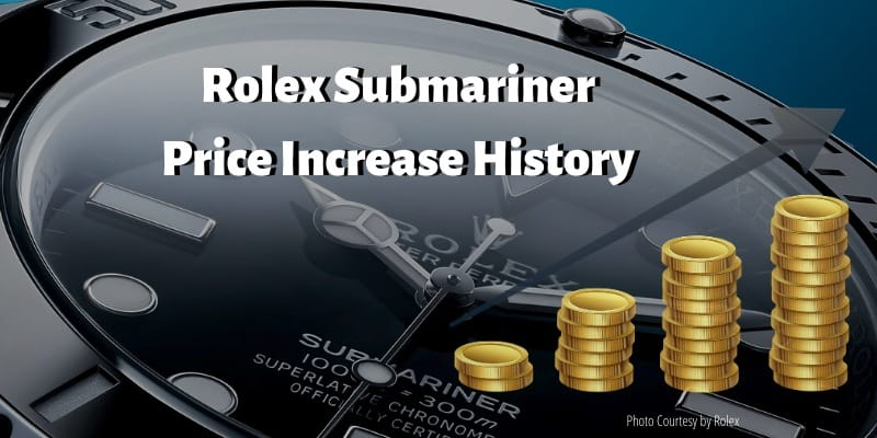 the famous rolex submariner price increase