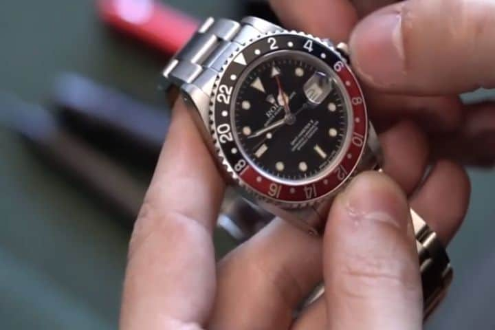 rolex gmt master reference 16760