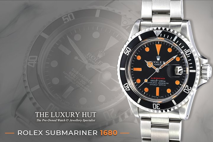 rolex submariner 1680 - the luxury hut